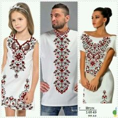 вишиванки для пари, комплекти для всієї сімї Тернополь - изображение 3