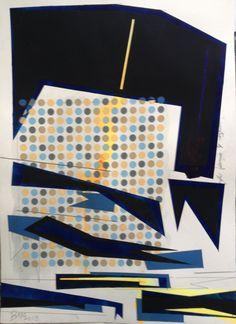 A2 painting on watercolour paper. Gouache, Watercolour, Pencil.