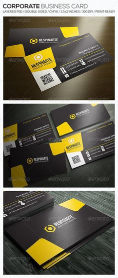 Corporate Business Card - RA53 for $5 #GraphicDesign #CardTemplates #GraphicRiver #BusinessCardTemplate #designs #CardDesign #GraphicResources #graphic #BusinessCard #cards #PrintTemplates #collection #CorporateBusinessCard #PrintDesign #DesignSet #BusinessCardTemplate #CardTemplates #set #template #GraphicDesigner