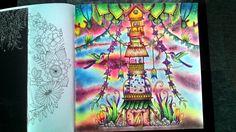 Johanna Basford Magical Jungle a prismacolor :-)