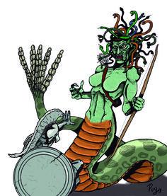 Medusa de 'Furia de Titanes'