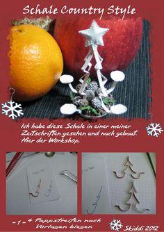 Skiddis bunte Miniaturwelt 1:12: Adventszeit ist Bastelzeit !