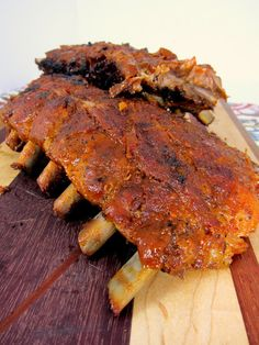 Fall Off The Bone Ribs - restaurant quality! #MemorialDay #grilling