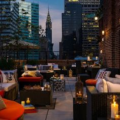 New York Rooftop Bars: 10 Awesome Options for Summer ~ Food News - Restaurant News | Zagat Buzz