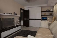 интерьер для комнаты 18 кв.м фото в однокомнатной квартире: 25 тыс изображений найдено в Яндекс.Картинках