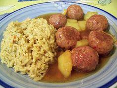 Tasty Meatballs, Cheap Meals, Winter Food, Ham, Pork, Potatoes, Menu, Lunch, Healthy Recipes