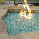 Fire Glass FAQ - Interesting for patio fire pits