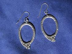 Hoop-like Spoon Jewelry Earrings Item E0102 Spoon by RootsOfSilver