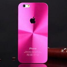 IPHONE 7 PLUS Stylish Anti-fingerprint Aluminum Protective Back Cover for iPhone 5 iphone 6 iphone 6s plus
