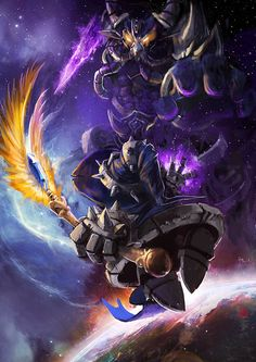 The greatest dark mage of Valoran by ~racoonwolf on deviantART