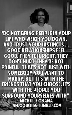 Good relationships don't hurt.