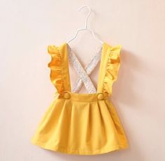 The Annie dress-Vintage Toddler Dress-ruffled by CharlotteChicCo