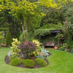 kidney shaped garden bed, want to do this one a smaller scale in the front yard
