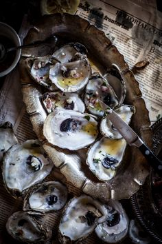 Adventures in Cooking: Grilled Oysters on the Half Shell with Grilled Proscuitto  Mignonette, Plus a Live Fire Cookbook Giveaway!