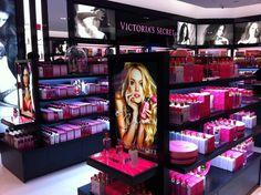 Luxury Boutique per fine lingerie Victoria Secret Shops, Orlando, Fire And Desire, Bath And Body Works Perfume, Mall Design, Empire, Boutique Interior Design, Beautiful Dream, Pink Love