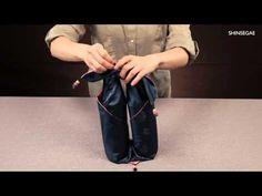 수려한 호호당 보자기 포장법01 - YouTube