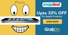 Happy deal is here - Buy iPhones and iPads at special prices! http://www.grabon.in/snapdeal-coupons/
