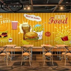 Barato Personalizado 3D foto papel de parede 3D Hamburgo tema papel de parede fast food restaurante café bar lanchonete wellpaper mural, Compro Qualidade Papéis de parede diretamente de fornecedores da China: Personalizado 3D foto papel de parede 3D Hamburgo tema papel de parede fast food restaurante café bar lanchonete wellpaper mural
