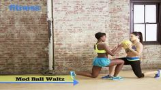 Exercise Ball Workouts: Med Ball Waltz