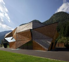 Ortisei, South Tyrol, from Bergmeister Wolf Architects (Brixen, Vienna).