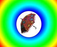 vintage Handmade Colourfull Rajasthani Handicraft Handmade Son umbrella  #Handmade #UmbrellaHat