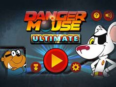 Danger Mouse Dash vvv Disney Xd, Disney Junior, Danger Mouse, Disney Channel, Games For Kids, Tv Shows, My Love, Fictional Characters