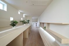 Multifunctional corridor   ma house by katsutoshi sasaki + associates   okazaki aichi, japan
