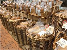 ...  wicker basket display of these Wegmans® branded Cinnamon Brooms was a shopper stopper. Description from fixturescloseup.com. I searched for this on bing.com/images