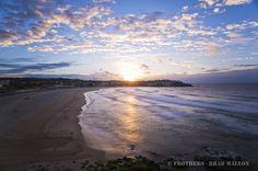 Frothers.com.au - 20 Jul 10 - Winter Daybreak - Bondi Glow, Beach, Winter, Outdoor, Winter Time, Outdoors, Seaside, Outdoor Games