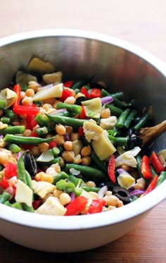 Chickpea Nicoise Salad | Joanne Eats Well With Others
