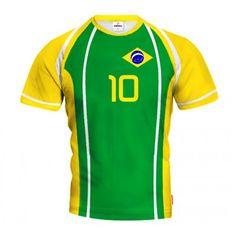 BRAZYLIA 2014/15 Koszulka Siatkarska z Własnym Nadrukiem Brazil Volleyball, Volleyball Jerseys, Sports, Stuff To Buy, Tops, Fashion, Brazil, Unitards, Clothing