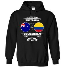 Made in Australia with COLOMBIAN part T-Shirts, Hoodies. Check Price Now ==►…