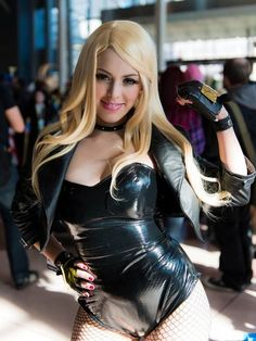 Black Canary cosplay  vivolatino.com pinterest #cosplay