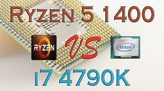 RYZEN 5 1400 vs i5 4690K BENCHMARKS / GAMING TESTS REVIEW AND COMPARISON...