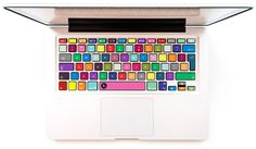Laptop-Aufkleber - Tastatur Aufkleber - Urbankolor - ein Designerstück von keyshorts bei DaWanda