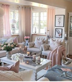 Good morningwish you all a wonderful start to the week - Design Cointrend News Decor, Fancy Living Rooms, Home, House Interior, Apartment Decor, Living Room Decor Cozy, Home Interior Design, Home And Living, French Home Decor
