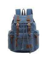 AM Landen®BLACK Multipurpose Rucksack Canvas Backpack - Visit to see more options
