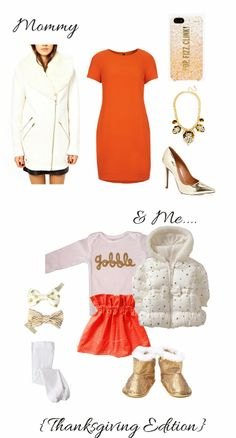 Sparkling Footsteps || Mommy and Me  What to Wear for Thanksgiving