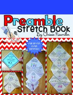 Wow your students on Constitution Day with this unique stretch book about the Preamble! Students will think about and illustrate the meaning of each section of the Preamble. 4th Grade Social Studies, Social Studies Classroom, Social Studies Activities, History Activities, History Classroom, Teaching Social Studies, 8th Grade History, Study History, Teaching Us History