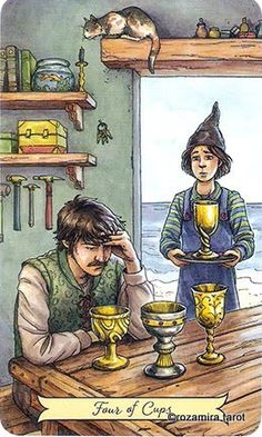 Everyday Witch Tarot de Deborah Blake et Elisabeth Alba Tarot Significado, Magic Magic Magic, Tarot Card Meanings, Oracle Cards, Tarot Decks, Archetypes, Tarot Cards, Artwork, Images
