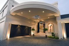 Exterior decoration by Saima Jaman on Creative Market South African Homes, Dubai, House Plans Mansion, Best Bathroom Designs, Dream Rooms, Traditional House, Decor Interior Design, Budapest, Home Projects