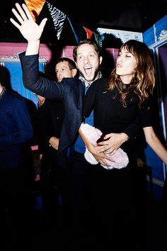 """"""" Derek Blasberg and Alexa Chung attend AnOther Magazine's A/W 14 Launch Party """""""