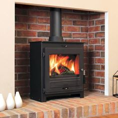Flavel No. 2 SQ07 Multi-fuel Wood Burning Stove | 7kW - Prime Stove