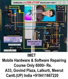 Samsung Galaxy Display Light Problem Solution Jumper Ways - IMET Mobile Repairing Institute IMET Mobile Repairing Course Hardware Software, Problem And Solution, Samsung Galaxy, Display, Jumpers, Violin, Mobiles, Phones, Tools