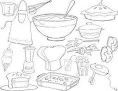 Bildergebnis Fur Coloring Pages Kitchen Utensils