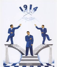 Phi Beta Sigma Pride by Johnny Myers | The Black Art Depot