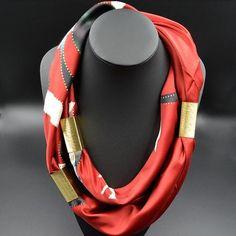 Divinity Scarves   Inanna Silk Scarf
