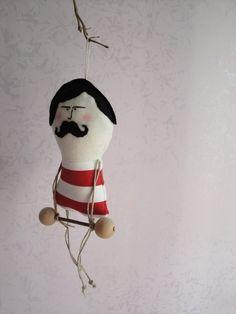 Strong Man Circus Doll