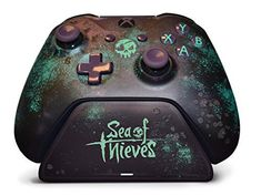 Controller Gear Sea of Thieves Special Edition Xbox Pro Charging Stand. for Xbox Elite Xbox One S and Xbox One X Controller. Officially Licensed and Designed for Xbox Xbox One Xbox Wireless Controller, Game Controller, Microsoft, Xbox One S, Xbox Xbox, Playstation, All Video Games, Sea Of Thieves, Xbox 360 Games