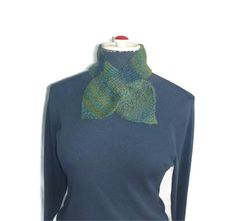30 ALPACA /70 PURE WOOL Green and Blue Womens by TheSmileEmporium. $25.00 AUD, via Etsy.